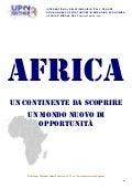 White Paper UP2gether: Le Comunità Economiche regionali dell'Africa