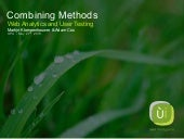 Combining Methods: Web Analytics an...