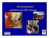 Contraception And Hiv