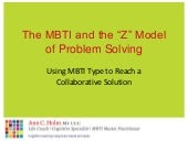 Updated Mbti Zmodel Presentation  M...