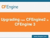 Upgrading from CFEngine2 to CFEngin...
