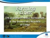 DR Congo: Growing greener cities