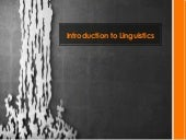Introduction to Linguistics_2 Lingu...