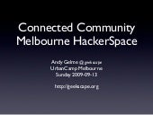 Connected Community HackerSpaces Me...