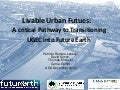 Liveable Urban Futures
