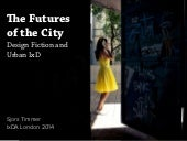 The futures of the city