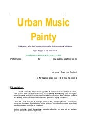 Urban Music Painty