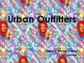 Urban Outfitters-Digital Marketing Strategy
