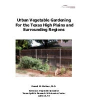 Urban Vegetable Gardening For the T...