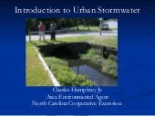 Urban Water Quality Issues - Introd...