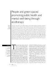 People and Green Spaces: Promoting ...