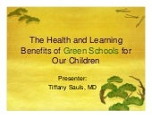 The Health and Learning Benefits of...