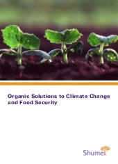 Organic Solutions to Global Warming...