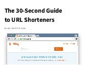 The 30-Second Guide to URL Shorteners