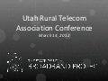 Utah Rural Telecom Association Annual Conference