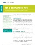 Top 5 Compliance Tips