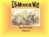 Us Mexican War Pp