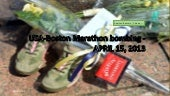 USA- Boston Marathon bombing - Apri...