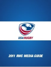 USA Eagles Rugby World Cup 2011 Squ...