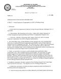 USAG Red Cloud Command Policy 1-15 Federal Employees Compensation Act (FECA) Working Group