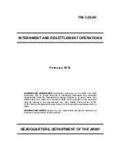 Us army internment-resettlement