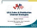 USA Sales & Distribution Strategies Strategies