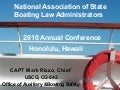 USCG Office of Auxiliary & Boating Safety Update