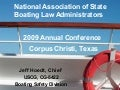 USCG Office of Boating Safety Update