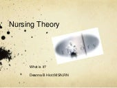 Uscu nursing theory what is it