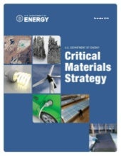 US Department of Energy: Critical M...