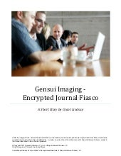 Short Story: Gensui Imaging – The Encrypted Journals Catastrophe
