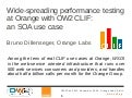 OW2 Clif Use Case OW2con11, Nov 24-25, Paris