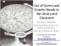 Use of comics and gn in the lib and class
