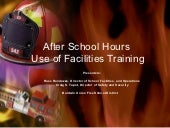 Use of Facilities Course