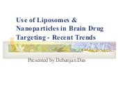 Use Of Liposomes & Nanoparticle...
