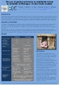 Poster13: The use of poultry and swine in smallholder farms in Colombia & Nicaragua: A value chain analysis
