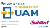 User Access Manager for IBM Connections (UAM)