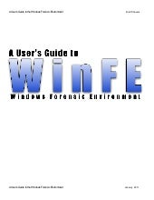 Users guide-to-winfe