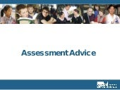 Assessment Advice