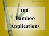 100 Bamboo Applications