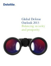 Deloitte Global Defense Outlook 2013