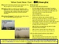 USFK Yellow Sand Info Card