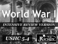 World War I (USHC 5.4)
