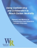 Using Conferencing and Collaboration to Reach Carbon Neutrality