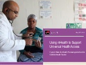 GSMA mHealth: Using mHealth to Supp...