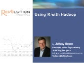 Using R with Hadoop