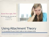 Using attachment theory