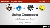 Using Composer with Drupal and Drush