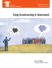 Using crowdsourcing in government