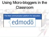 Usingedmodointheclassroom